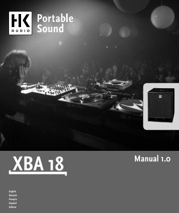 Manual 1.0 - SDS Music Factory AG