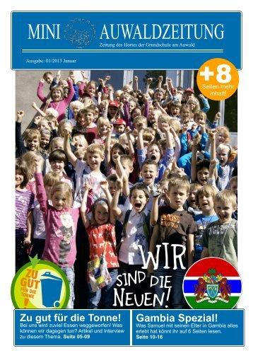MINI AUWALDZEITUNG - Schule am Auwald