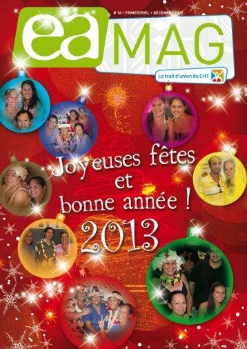 # 16 • TRIMESTRIEL • décEMbRE 2012 - Centre Hospitalier de ...