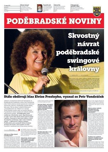 Skvostný návrat poděbradské swingové královny - Kulturní a ...