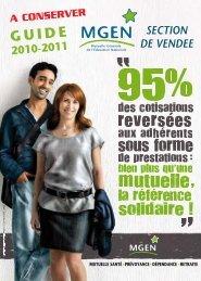 SECTION DE VENDEE 2010-2011 - MGEN