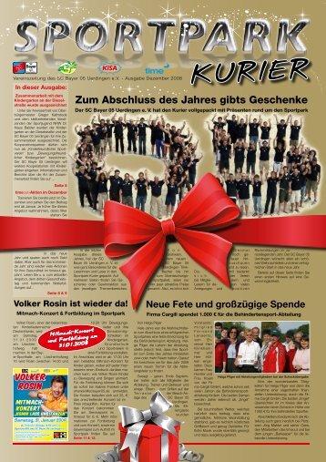 SpoRt iSt unSER LEBEn - SC Bayer 05