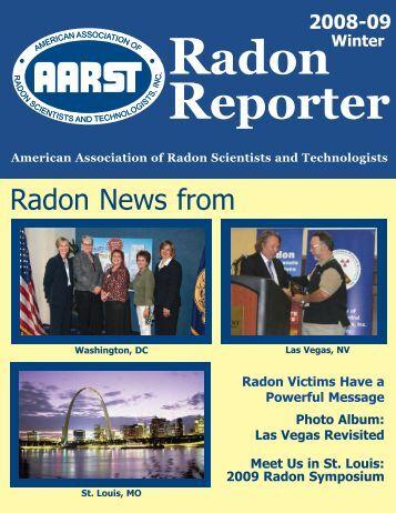 Radon News from - Aarst.com