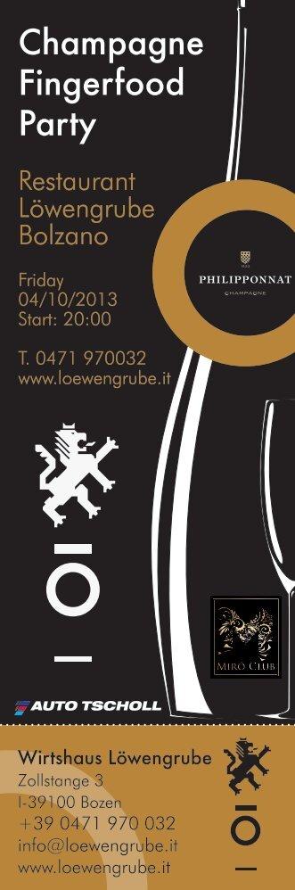 Einladung Champagnerfest MP_15.09.13.indd - Löwengrube