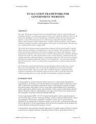 evaluation framework for government websites - Asbbs.org