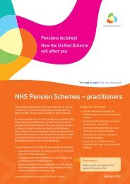 practitioners - Pensions