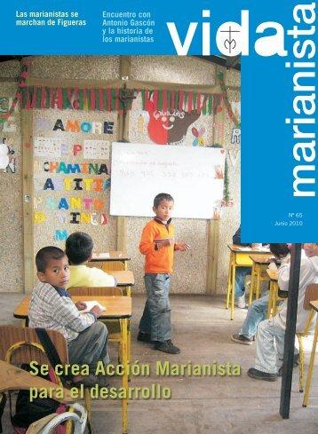 Se crea Acción Marianista para el desarrollo - Publicaciones ...