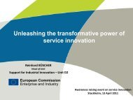 Unleashing the transformative power of service innovation - Vinnova
