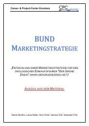 Career- & Project-Center Konstanz - BUND Konstanz