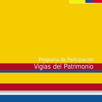 programa de participación vigías del patrimonio - Colombia Aprende