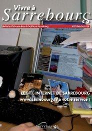 Vivre à - Site de la Mairie de Sarrebourg