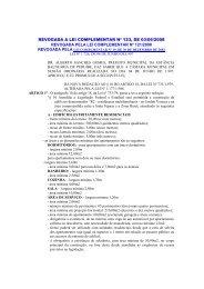 revogada a lei complementar nº 123, de 03/06/2008 ... - Peruíbe