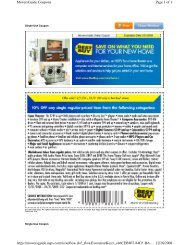 Page 1 of 9 MoversGuide Coupons 12/28/2008 https://moversguide ...