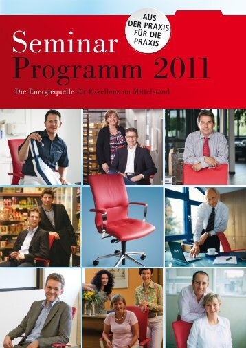 Seminar IS Programm 2011 - SchmidtColleg GmbH & Co. KG
