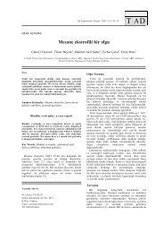 Mesane ekstrofili bir olgu - Tıp Araştırmaları Dergisi