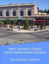 DRAFT 2012/2013—2015/16 CAPITAL ... - City of Auburn