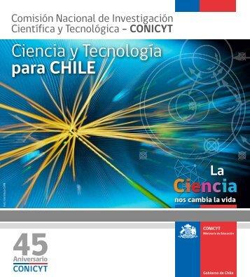 Brochure Institucional 2013 - Conicyt