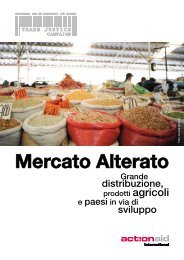 Mercato Alterato - Grande distribuzione, prodotti agricoli ... - ActionAid