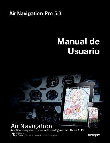 Air Navigation Pro 5.3 Manual de Usuario - Xample