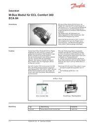M-Bus Modul für ECL Comfort 300 ECA 84