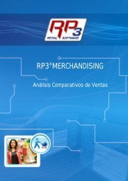 Comparativo de Ventas - RP3 Retail Software