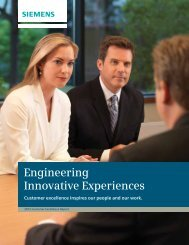 Engineering Innovative Experiences - Siemens