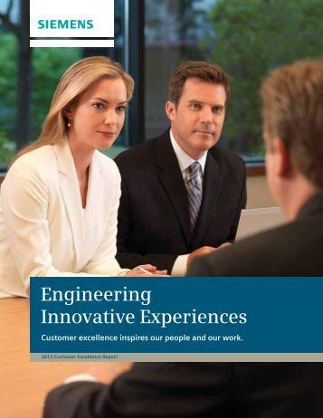 Engineering Innovative Experiences - Siemens