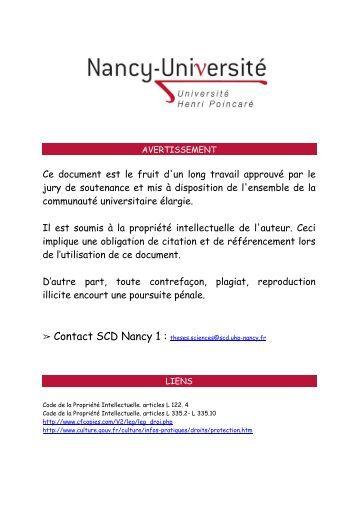 Desulfovibrio spp. dans la maladie parodontale - SCD UHP Nancy ...
