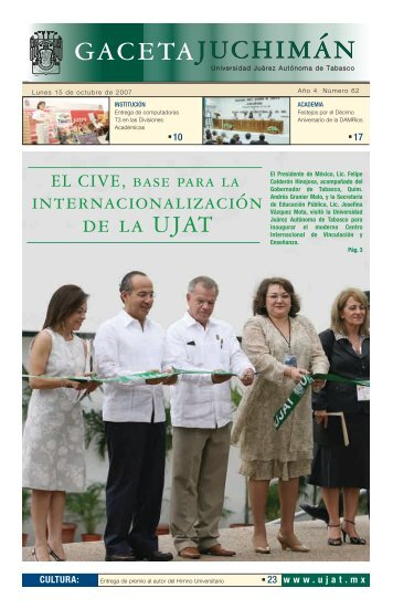 Lunes 15 de octubre del 2007 - Publicaciones - Universidad Juárez ...