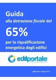Detrazioni 65% - L'Altra Energia