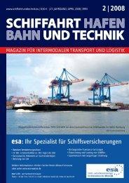 2 | 2008 - Schiffahrt und Technik