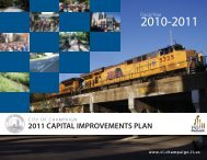 2011 CAPITAL IMPROVEMENTS PLAN - City of Champaign