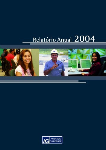 Relatório Anual 2004 - The Global Clearinghouse