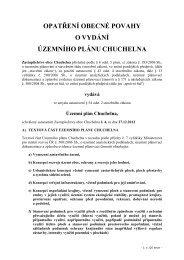 Opatření obecné povahy o vydání Územního plánu ... - Semily