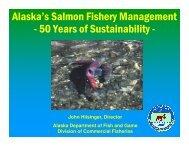 Alaska's Salmon Fishery Management - 50 Years of Sustainability -