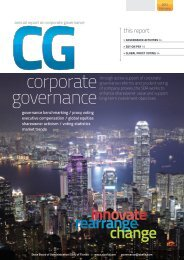 corporate governance - Florida State Board of Administration