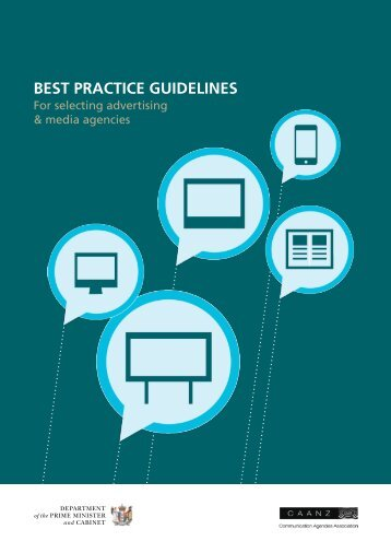 Best Practice Guidelines for Selecting Advertising and Media Agencies