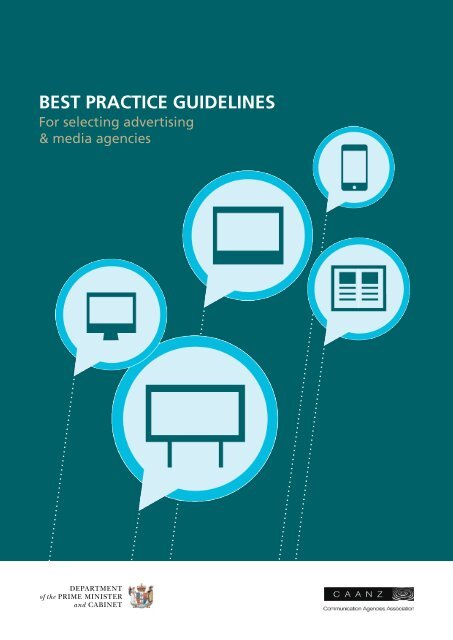 Best Practice Guidelines for Selecting Advertising and Media