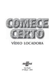 Vídeo Locadora - COMPLETO - Sebrae
