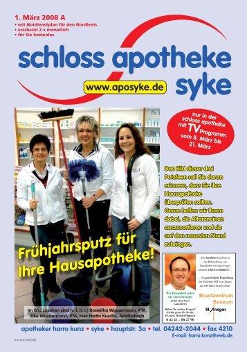 Frühjahrsputz für Ihre Hausapotheke! - Schloss Apotheke