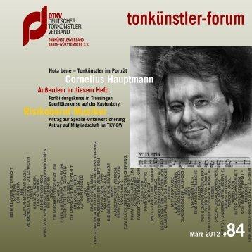 tonkünstler-forum - Pcmedien.de