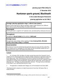 Huntsman sports ground, Blackheath - Greater London Authority