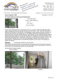 Vermietete Eigentumswohnung als ... - Hahn-Immobilien