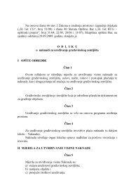 11. Odluka o naknadi za uređivanje građevinskog zemljišta ... - Bar