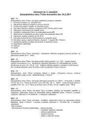 Usnesení ze 3. zasedání Zastupitelstva obce Tršice konaného dne ...