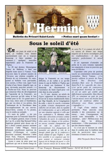 L'Hermine nº 10 - La Porte Latine