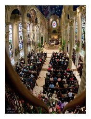 May 15 - Cathedral of the Immaculate Conception