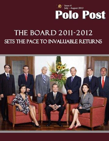 July-August 2012 - Manila Polo Club