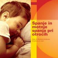 Spanje in motnje spanja pri otrocih - Medis
