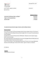 - 1 - Drucksache Nr. 232 /1 Amt für Schule, Jugend ... - Kamp-Lintfort
